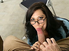 Madison Ivy has to help the professor grade papers but he really wants to play with her vagina. What better way to aid him is to screw his brains out!