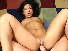 Pretty Asian Sucks And Fucks In POV